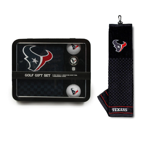 Houston Texans NFL 2 Golf Ball, Divot Tool and Towel Set