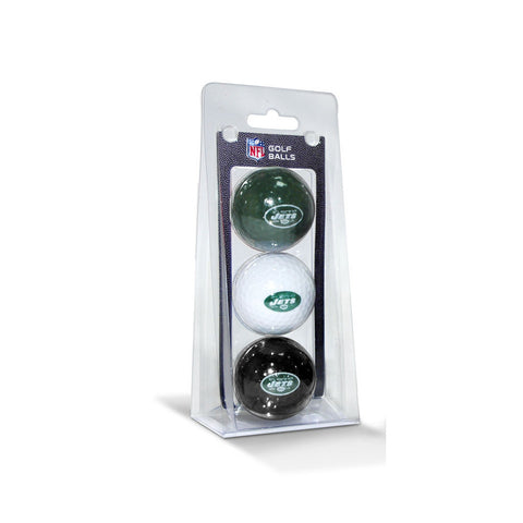 New York Jets NFL 3 Ball Pack