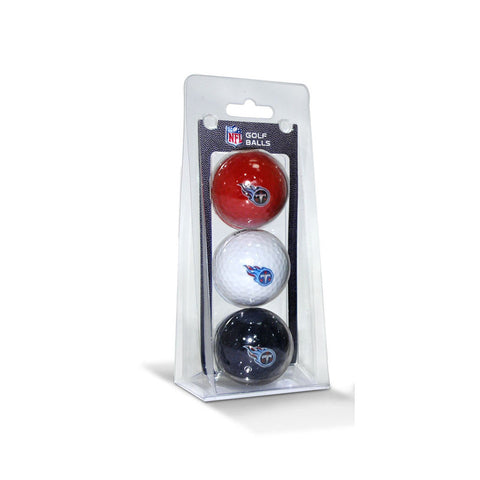 Tennessee Titans NFL 3 Ball Pack