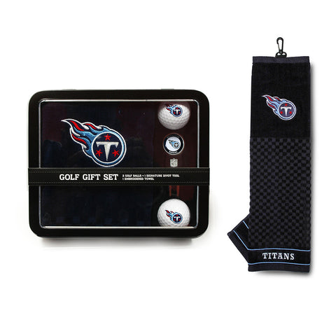 Tennessee Titans NFL 2 Golf Ball, Divot Tool and Towel Set