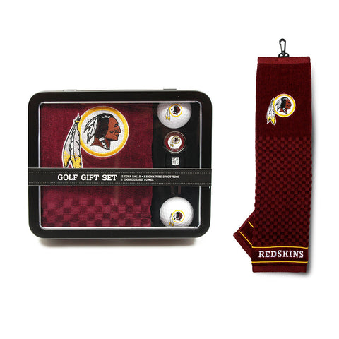 Washington Redskins NFL 2 Golf Ball, Divot Tool and Towel Set