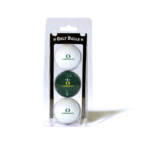 Oregon Ducks NCAA 3 Ball Pack