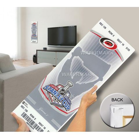 2006 Stanley Cup Mega Ticket Carolina Hurricanes