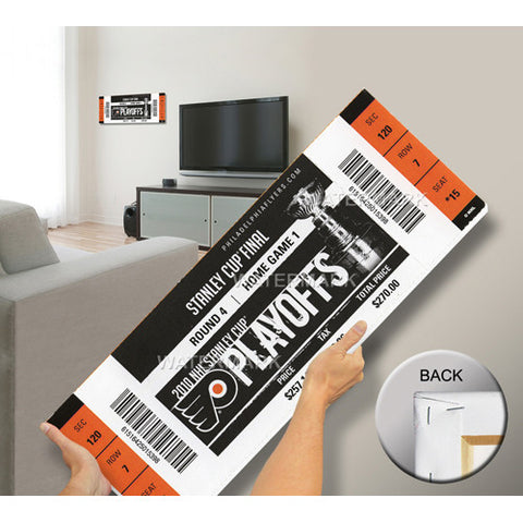 2010 Stanley Cup Mega Ticket Philadelphia Flyers