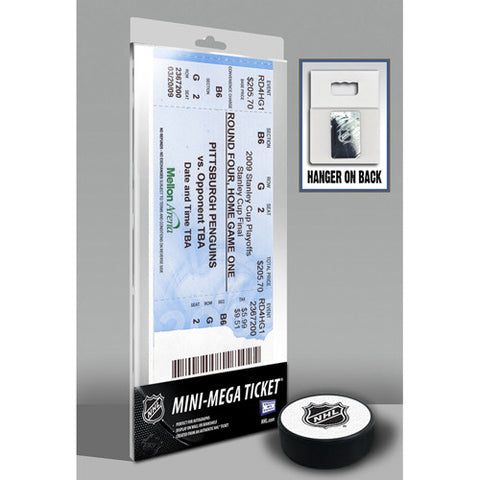 2009 Stanley Cup Mini Mega Ticket Pittsburgh Penguins