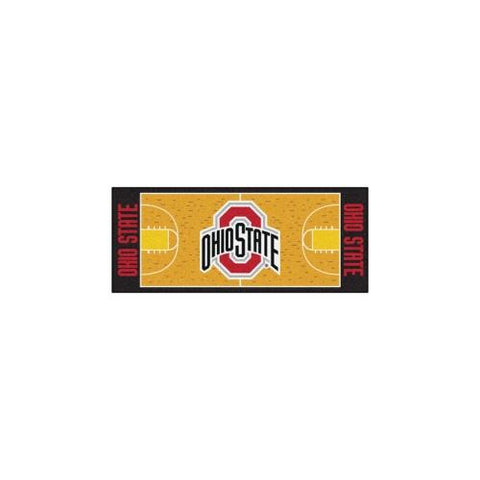 "Ohio State Buckeyes NCAA Court Runner (29.5""x72"")"
