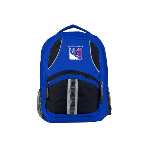 New York Rangers NHL Captain Backpack (Royal/Black) (2-Pack)