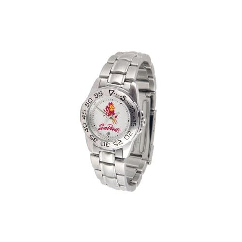 "Arizona State Sun Devils NCAA ""Sport"" Ladies Watch (Metal Band)"