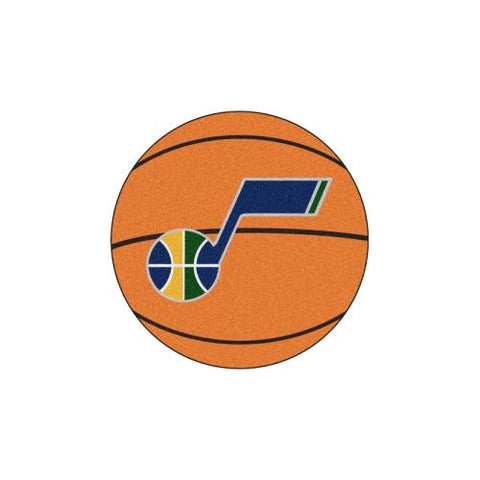 "Utah Jazz NBA Basketball Mat (29"" diameter)"