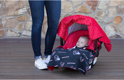 "Houston Texans NFL ""The Whole Caboodle"" 5-Piece Carseat Cover Set"