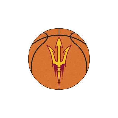 "Arizona State Sun Devils NCAA ""Basketball"" Round Floor Mat (29"")"