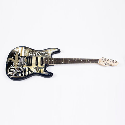 "New Orleans Saints NFL ""NorthEnder"" Series 2 Electric Guitar"