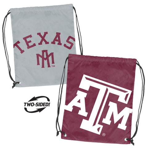 Texas A&M Aggies NCAA Doubleheader Reversible Backsack