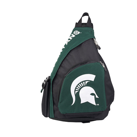 "Michigan State Spartans NCAA ""Leadoff"" Sling (Green/Black)"