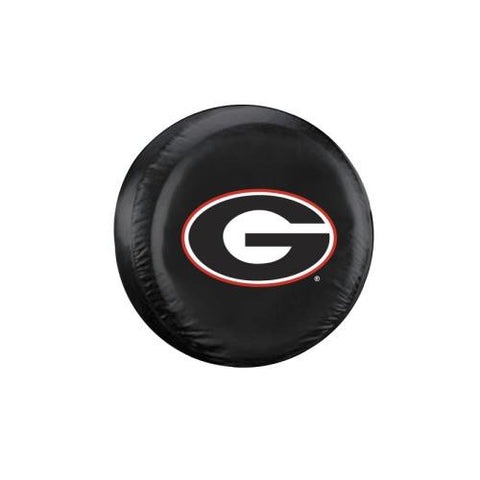 Georgia Bulldogs NCAA Spare Tire Cover (Standard) (Black)