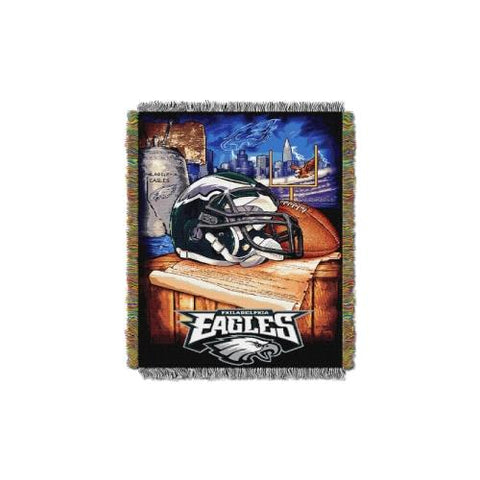 Philadelphia Eagles NFL Woven Tapestry Throw (Home Field Advantage) (48x60) (2-Pack)