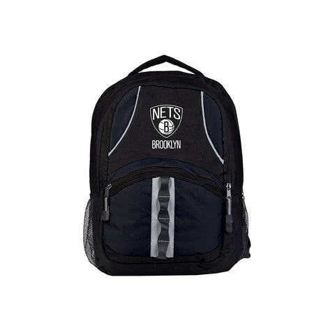 Brooklyn Nets NBA Captain Backpack (Black/Black)