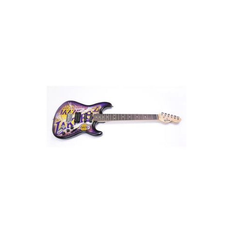 "Los Angeles Lakers NBA ""NorthEnder"" Electric Guitar"