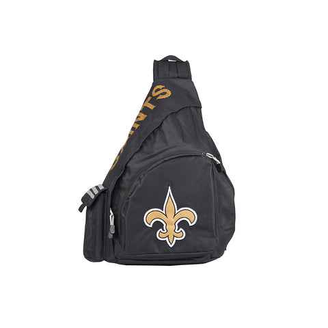 "New Orleans Saints NFL ""Leadoff"" Sling (Black/Black)"
