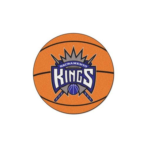 "Sacramento Kings NBA Basketball Mat (29"" diameter)"