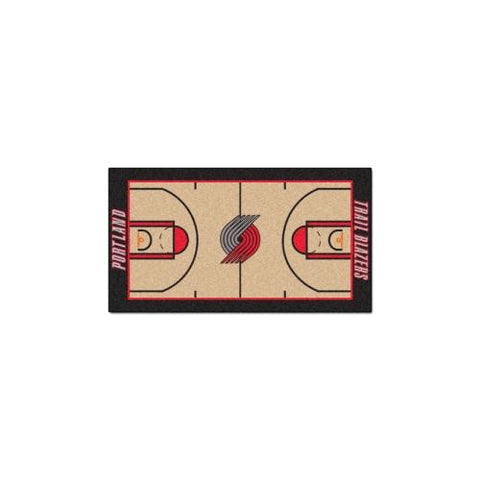 Portland Trail Blazers NBA 2x4 Court Runner (24x44)