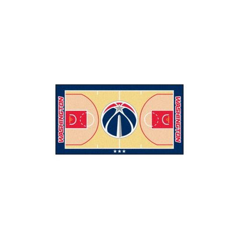 Washington Wizards NBA 2x4 Court Runner (24x44)
