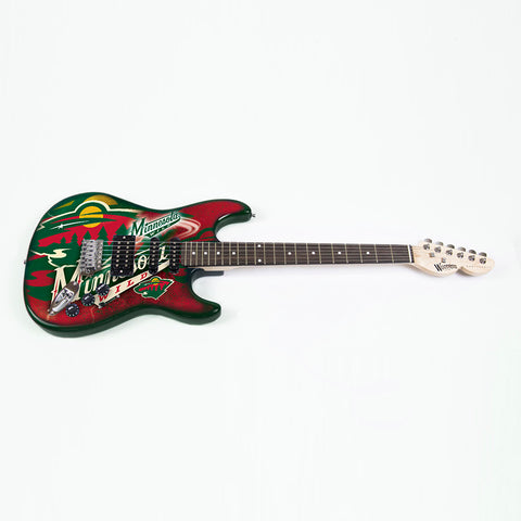 "Minnesota Wild NHL ""NorthEnder"" Series 2 Electric Guitar"