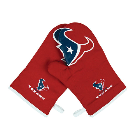 Houston Texans NFL Cross Over 2pc Oven Mitt Set
