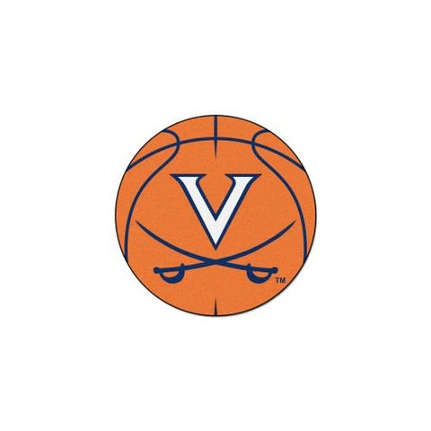 "Virginia Cavaliers NCAA ""Basketball"" Round Floor Mat (29"")"