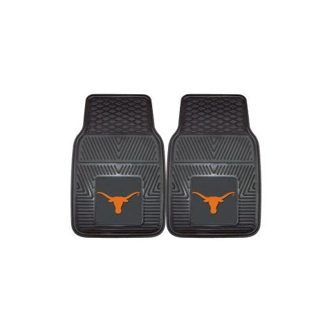 "Texas Longhorns NCAA Heavy Duty 2-Piece Vinyl Car Mats (18""x27"")"