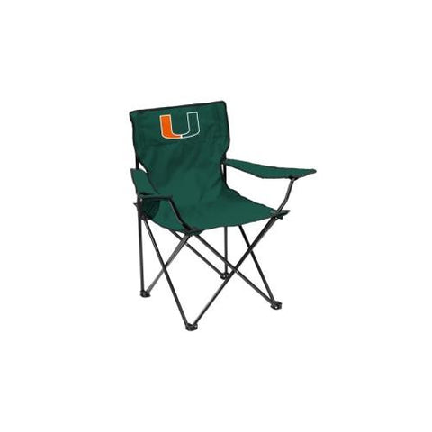 Miami Hurricanes NCAA Quad Chair
