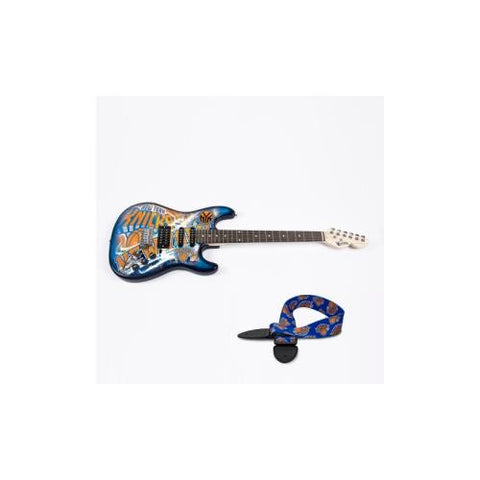 "New York Knicks NBA ""Northender"" Electric Guitar with Strap"