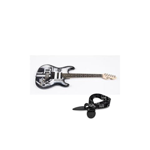 "Los Angeles Kings NHL ""Northender"" Electric Guitar with Strap"