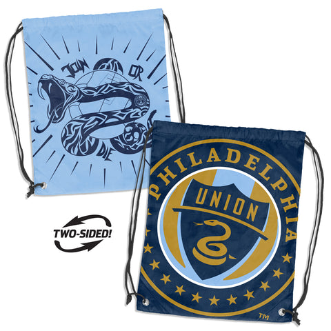 Philadelphia Union MLS Doubleheader Reversible Backsack