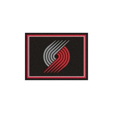Portland Trail Blazers NBA 8ft x10ft Area Rug