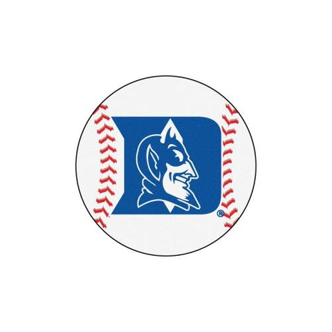 "Duke Blue Devils NCAA ""Baseball"" Round Floor Mat (29"")"