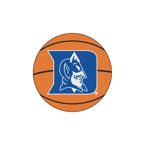 "Duke Blue Devils NCAA ""Basketball"" Round Floor Mat (29"")"