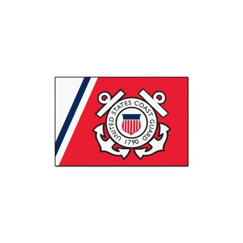 "US Coast Guard Armed Forces 4x6 Rug (46""x72"")"