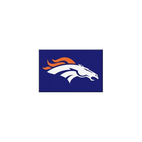 "Denver Broncos NFL Rookie Bathroom Rug (19""x30"")"