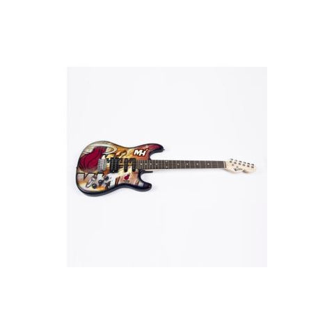"Miami Heat NBA ""NorthEnder"" Electric Guitar"