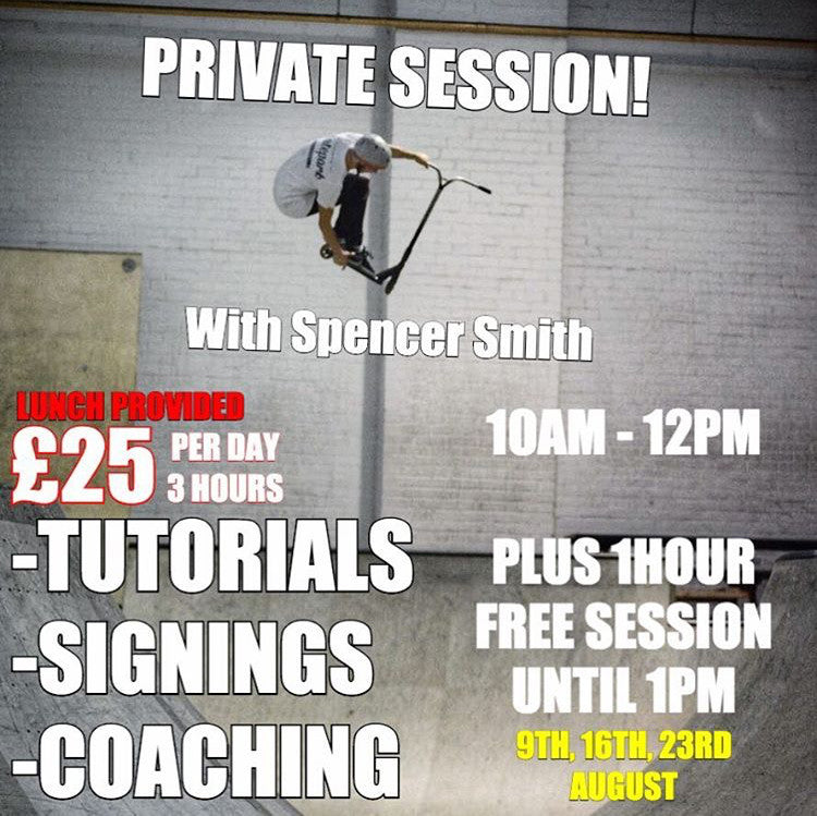 Private Session with Spencer Smith