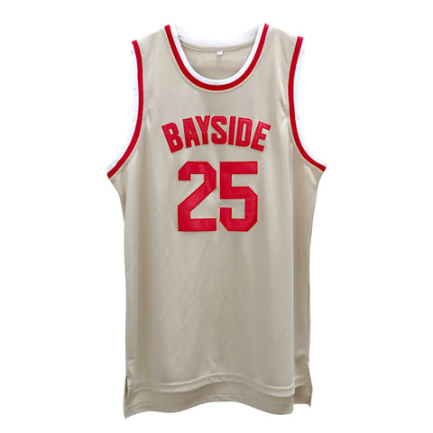 Morris #25 Bayside High School Basketball Throwback Jersey