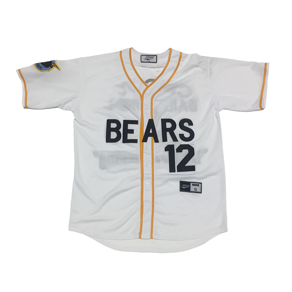 Boyle #12 Bad News Bears Baseball Throwback Jersey