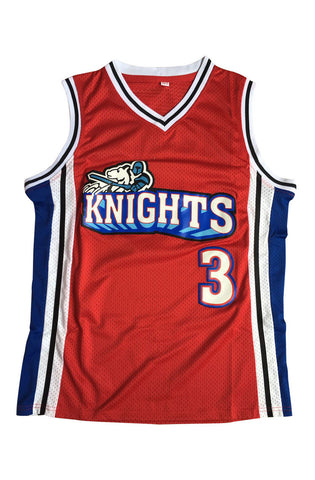 Cambridge #3 Los Angeles Knights Basketball Throwback Jersey