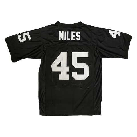 Miles #45 Permian High School Black Football Throwback Jersey