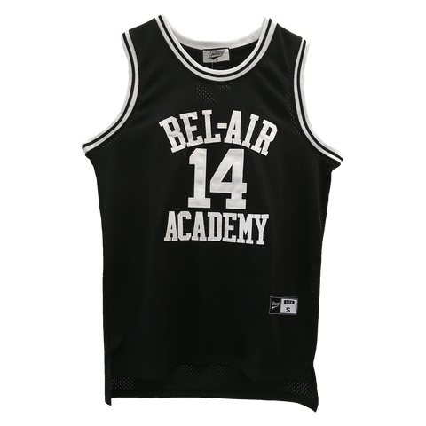 The Fresh Prince of Bel-Air Jersey Will Smith #14 Black Basketball Throwback Jersey
