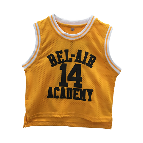 The Fresh Prince of Bel-Air Will Smith #14 TODDLER Basketball Throwback Jersey