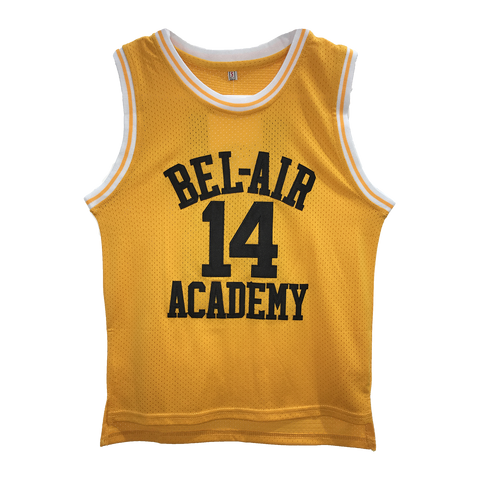 The Fresh Prince of Bel-Air Will Smith #14 YOUTH KIDS Basketball Throwback Jersey
