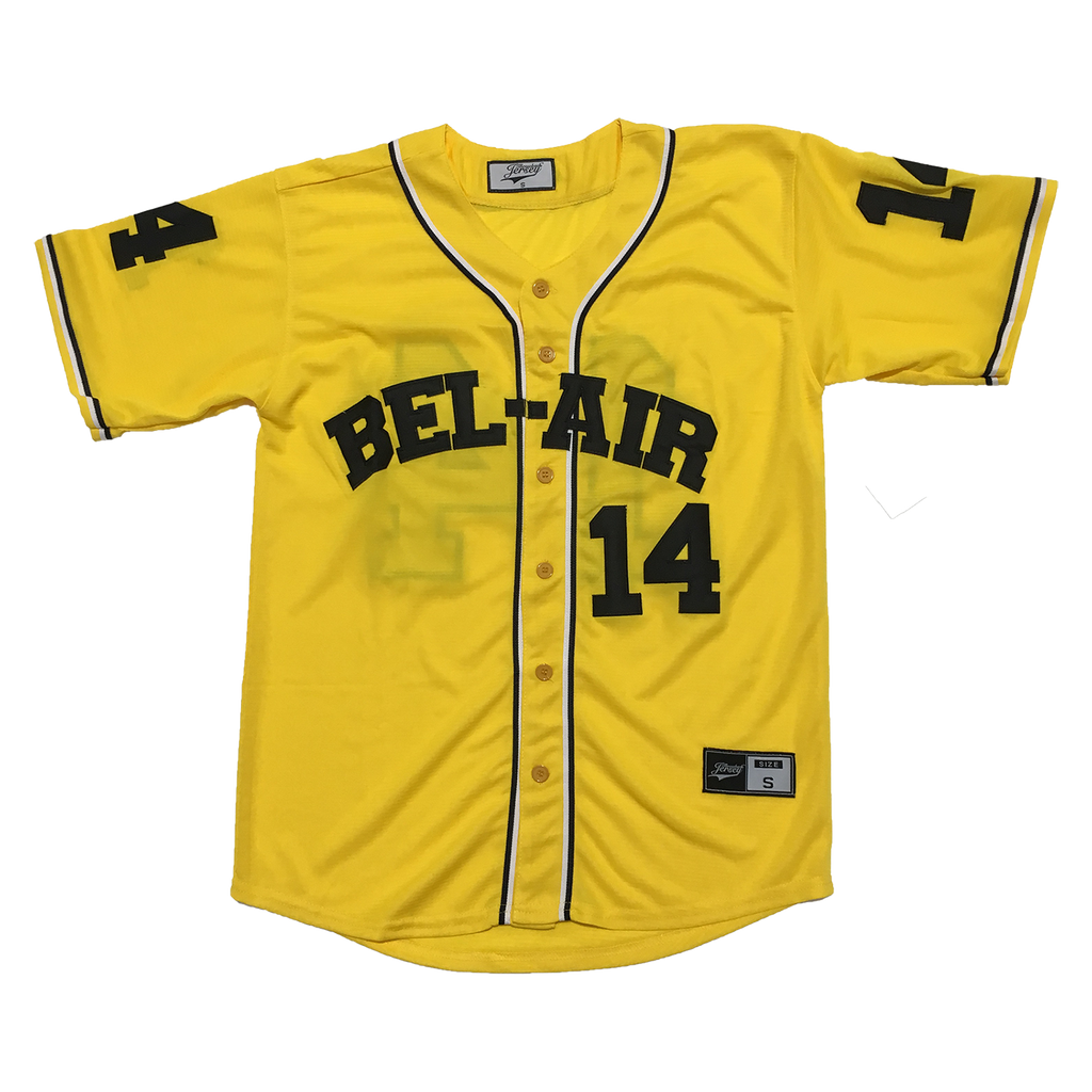 The Fresh Prince of Bel-Air Will Smith #14 Baseball Throwback Jersey