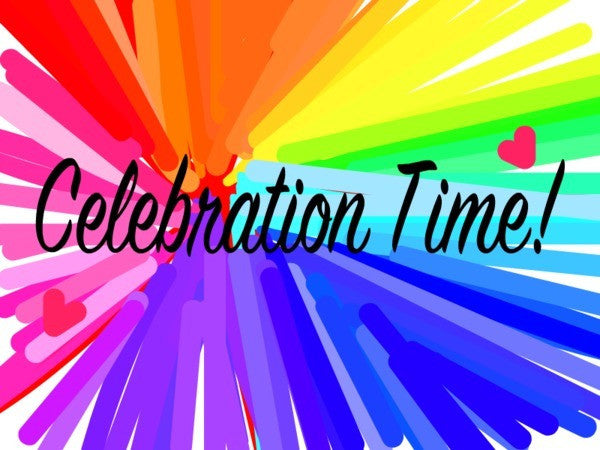 Celebrate good times...and accomplishments!